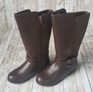 Adorable Girls Riding Boots